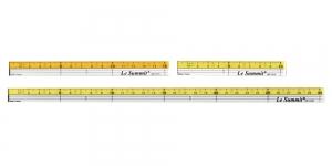 Läbipaistvate minijoonlaudade komplekt, Small Clear View Quilting Ruler 3ps set, LeSummit QR-1410, QR-1415, QR-1430