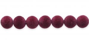 Tumepunane samethelmes, 12mm, CD27