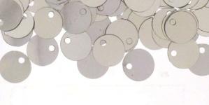 YB48 / Lamedad kettakujulised plastlitrid / ø8mm