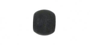 Must matt ümar pärlipidur,helmes, 3mm, JFC3B-1Z