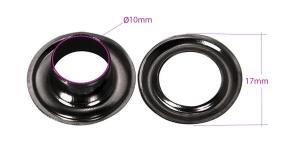 Pronksist öösid, augu ø10 mm, 12 tk, Pinnatud: must nikkel, KL1241