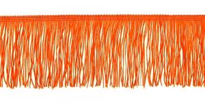 Lihtsad narmad pikkusega 10 cm, värv oranž, 15