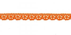 Puuvillane pits 3247-17 laiusega 1,5 cm, värv oranž