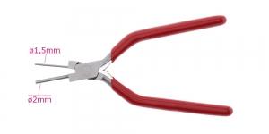 Traadi painutustangid, ümaraotsalised käsitöötangid, ø1.5mm, ø2mm, PK4101, TSR5