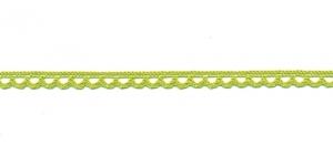 Puuvillane pits 3174-21 laiusega 0,8 cm, värv hele kollakasroheline