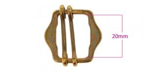 Metallisolki, kiristin, 26x28 mm, sopii hihnaan 20 mm, SHB203