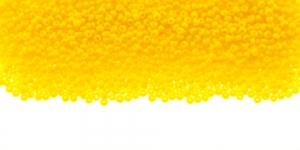 Tšehhi Preciosa terahelmed, Nr.13 (1,6-1.8mm), Kollane läbipaistmatu, HH74