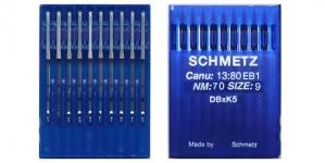 Proffessionaalse tikkimismasina nõel, 10 tk, Schmetz DBxK5 Nr.70 (Size.10) F2