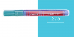 Naha viltpliiats Darwi Leather, 2mm joon, 6ml, LIGHT BLUE 215