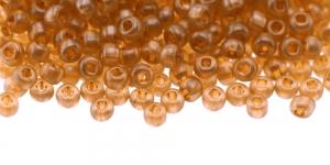 Terahelmed, seemnehelmed, Nr.5 (4,3-4.8mm), Preciosa Helepruunid, piimjad, kõrgläikega, HC32