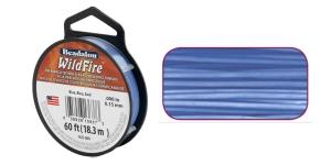 Termiliselt töödeldud tugev niit WildFire ø0,15 mm; 45,8 m, värv: helesinine, Beadalon 161I-008