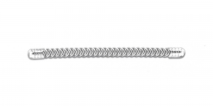 10x0,5cm Metallist korsetiriba