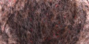 Siidi ja alpakavilla sisaldusega lõng Alpaca Tweed, värv nr.7 tumebeež
