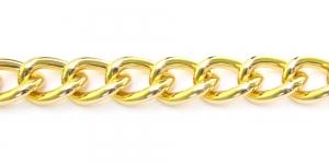 MA55 30 x 20 x 6 mm Kuldne Alumiiniumkett