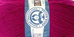 Akrüüllõng Kristal; Värv 103 (Lillakasroosa), Madame Tricote