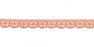 Puuvillane pits 3247-42 laiusega 1,5 cm, värv heledam oranž