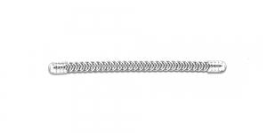 9x0,5cm Metallist korsetiriba