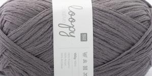 Krookiv lõng kreatiivseks kasutamiseks Loopy; Värv 6 (Hallikaslilla), RICO Design
