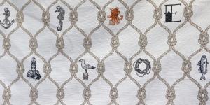 140cm Kirju mustriga, linahall puuvillasegu kangas, 48770-01