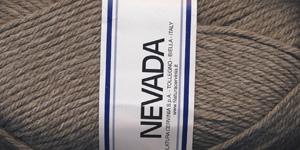 Poolvillane lõng Nevada; Värv 1259 (Ingverijuure pruun), Lane Cervinia