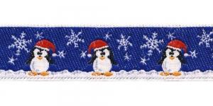 Jõulupael pingviinidega laiusega 30mm, värv 2, PG 201B