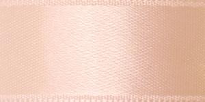 Kahepoolne luksuslik atlaspael laiusega 20mm / Art.2468 / Double Sided Satin Ribbon / värv nr.670 Kreemjasroosa