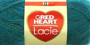 Siidjalt pehme akrüüllõng Lacie, Red Heart, värv nr. 6, smaragdroheline