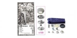 Trukid pehmema s-vedruga, ø15 mm, 100 tk, nikeldatud, Multipack , Prym 390260
