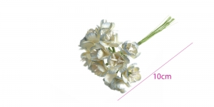 Blossom Flowers: Paper: 18mm: Bouquet of 12pcs, Bridal B2150TE