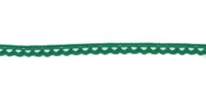 Puuvillane pits 3840-12 laiusega 1 cm, värv tumedam roheline