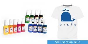 Spreivärvid kanga värvimiseks/ Fabric Paint Spray, 50 ml, Vielo, Värv: sinine, #509 Gentian Blue