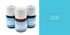 Klaasivärv Darwi Glass, 30ml, LIGHT BLUE 215