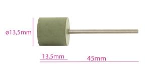 Ku mmist lihvimisketas, abrasiivketas, silinder, sile, roheline KL0976, TM8-7