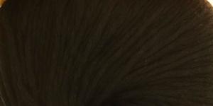 Puuvillasisaldusega veidi elastne lõng Calmer; Värv 465 (Must) / Rowan