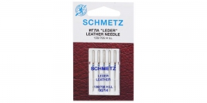 Leather Needles for Home use Sewing Machines, Schmetz, No. 90 (14)