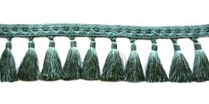 Soliidne kaunistuspael tuttidega, üldlaiusega 12cm, värv hallikasrohekas