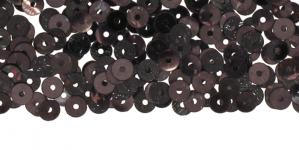 YB29b / Lamedad kettakujulised plastlitrid / Sinakas must / ø4mm