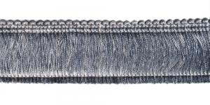 Tihe läikiv narmaspael laiusega 4,5 cm, värv nr 2, hõbehall