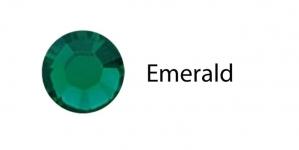 Triigitav MC kristall SS6 smaragdroheline Emerald