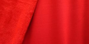 Pehme paks dressikangas Art.5296-0061 Punane