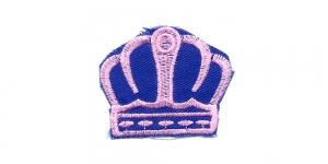 Sinine heleroosaga kuninga kroon, 6 x 5 cm, AT22