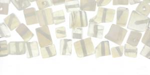 JF51 / Läbipaistvad kuubikukujulised mitte teokarbist helmed / 2-6mm