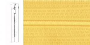 Неразъёмные спиральные молнии 4мм, 40см , 1231