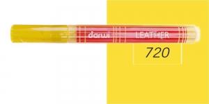 Naha viltpliiats Darwi Leather, 2mm joon, 6ml, DARK YELLOW 720