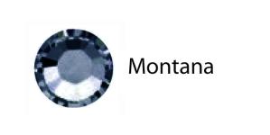 Triigitav MC kristall SS30 indigo- e. teksasinine / Montana