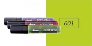 Akrüülvärviga viltpliiats, katva värviga, 15mm, 25ml, Darwi Acryl Opaque, LIME GREEN 601