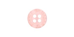 SM90222A Heleroosa plastiknööp
