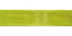 638 Erk õunaroheline organza pael 10mm-12mm