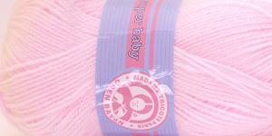 Beebilõng Super Baby; Värv 95 (Heleroosa), Madame Tricote