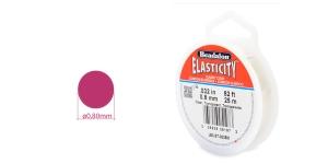 Läbipaistev tugev ümarkumm Elasticity, ø0,8 mm, 25 m, värvitu, Beadalon JE0.8T-0025M